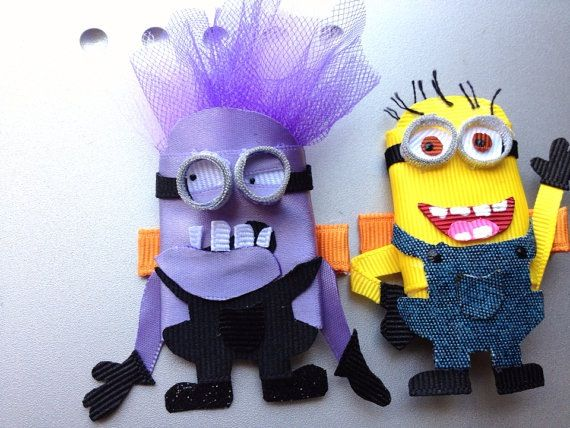 Minion Clips  Www.facebook.com/cuteyclips-the purple guy is awesome!