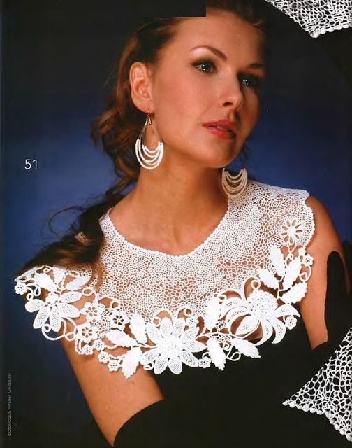 Irish crochet &: IRISH LACE COLLARS ... ВОРОТНИКИ