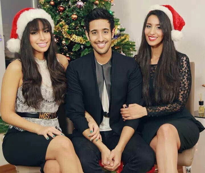Sami Slimani and his sisters Lamiya Slimani and Dounia Slimani- Check out their youtube channels! It's worth it!