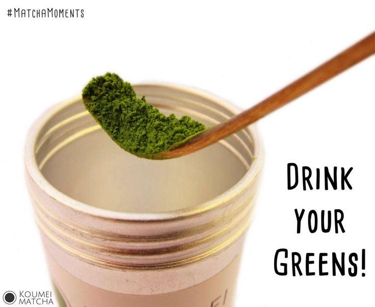 #MatchaMoments - Tu dir was Gutes, trink Tee! #DrinkYourGreens von Koumei Matcha, gefunden im Matcha Blog: http://www.koumei-matcha.de/matcha-moments/ #Matcha #Tee #GreenTea