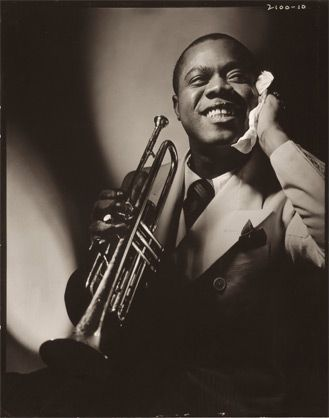 Louis Armstrong by Anton Bruehl, 1935