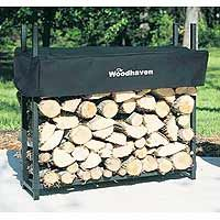 $115.99 (CLICK IMAGE TWICE FOR UPDATED PRICING AND INFO)  Woodhaven - 36WRC - 1/8 Cord Outdoor Fire Wood Storage Rack with Cover - Black - 36 in. See More Fire Wood Racks at http://www.zbuys.com/level.php?node=3936=firewood-racks