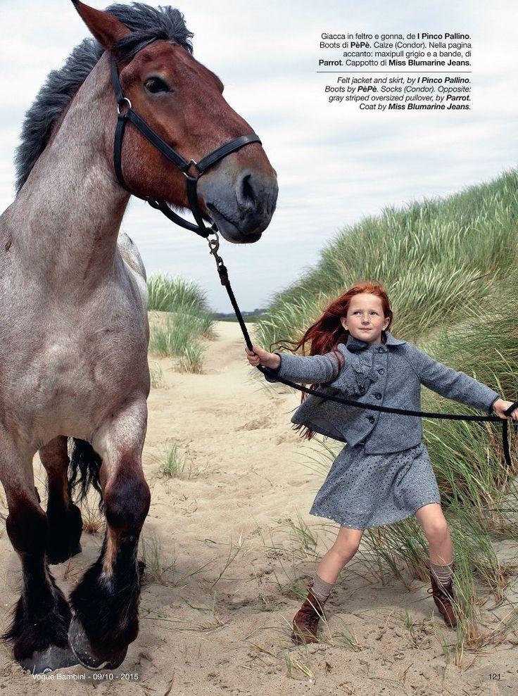 Igor Borisov — Vogue Bambini - 'Mare D'Inverno'