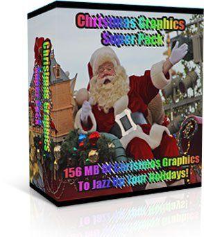 Huge Christmas Graphics Package