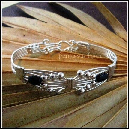 Beautiful wire wrapped bracelet
