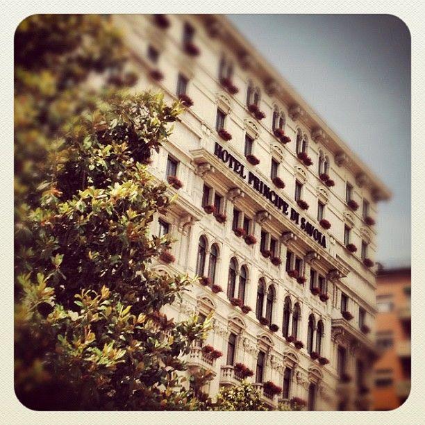 Hotel Principe di Savoia, my home in  Milano © Adriano Castelli