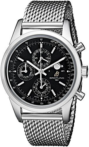 Breitling Men's A1931012-BB68 Analog Display Swiss Automatic Silver Watch