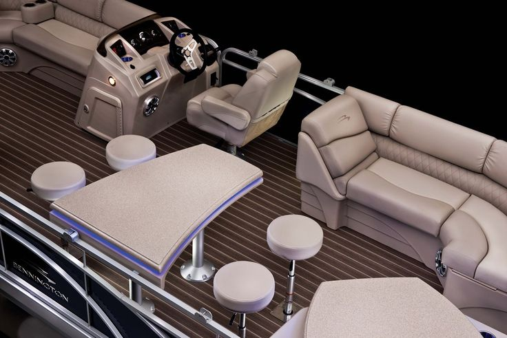 Premium Bennington Boat Interior                                                                                                                                                     More
