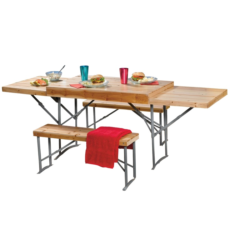 Portable Picnic Table is Extendable image - $74.99 clearance