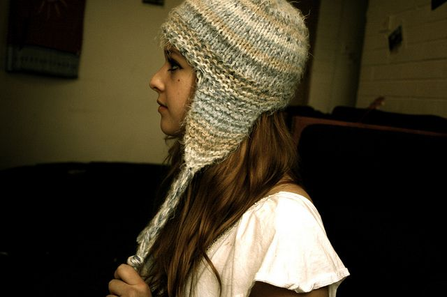 Knitted Hat Patterns With Ear Flaps : Sensation
