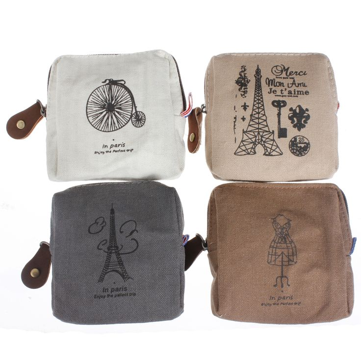Classic vintage canvas zip up pouch for credit cards, tickets, cash, coins, keys, etc., approx 8.5cm x 8.5cm x 3cm @ AUD$6.00 + postage or local pick up available.