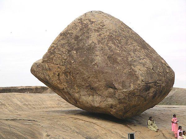 Mahabalipuram Balancing Rock