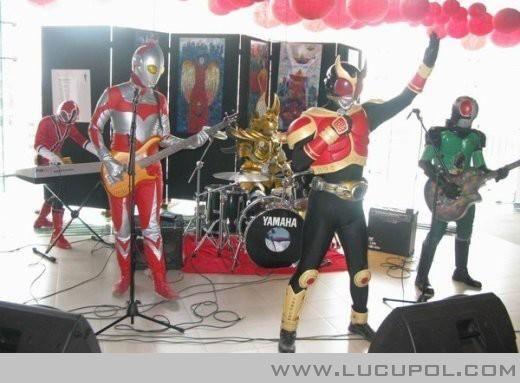 Superhero Band!