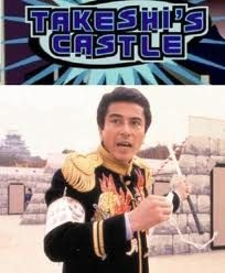 Before wipeout, there was Takeshi's Castle!!