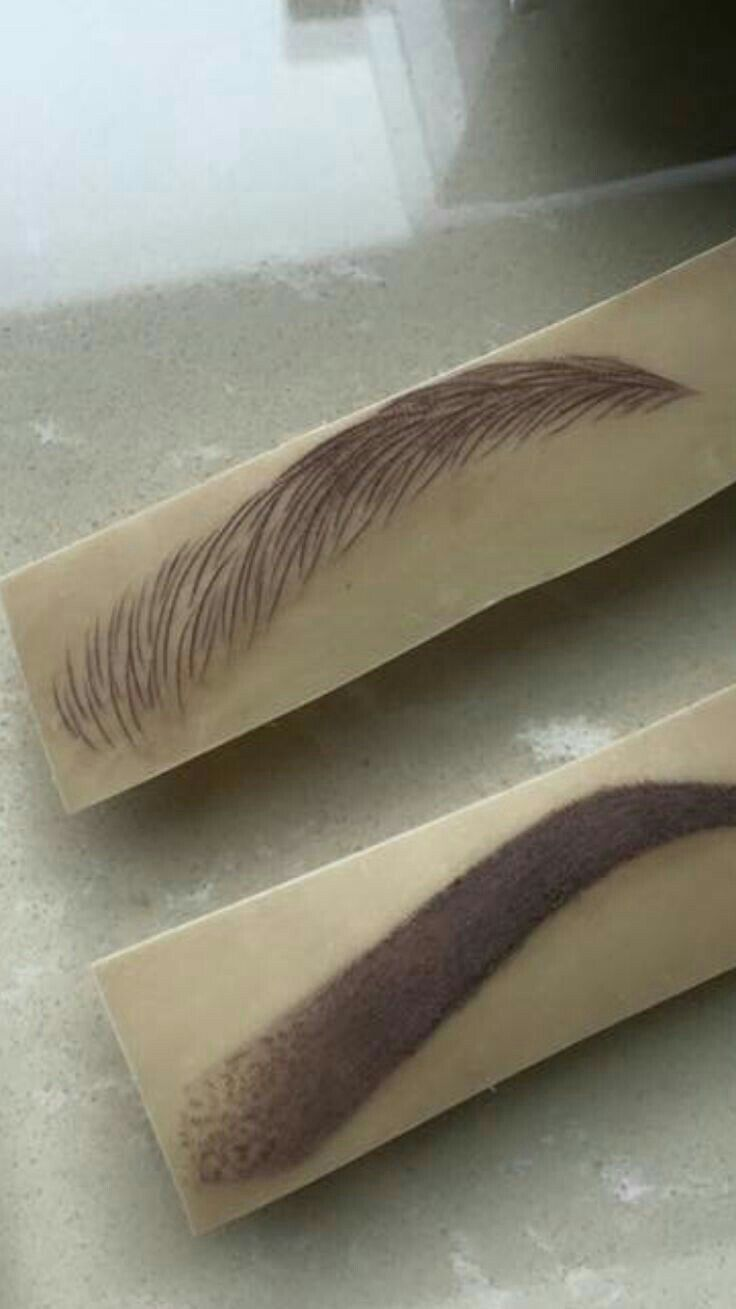 Hairstroke & Ombre Style Brows