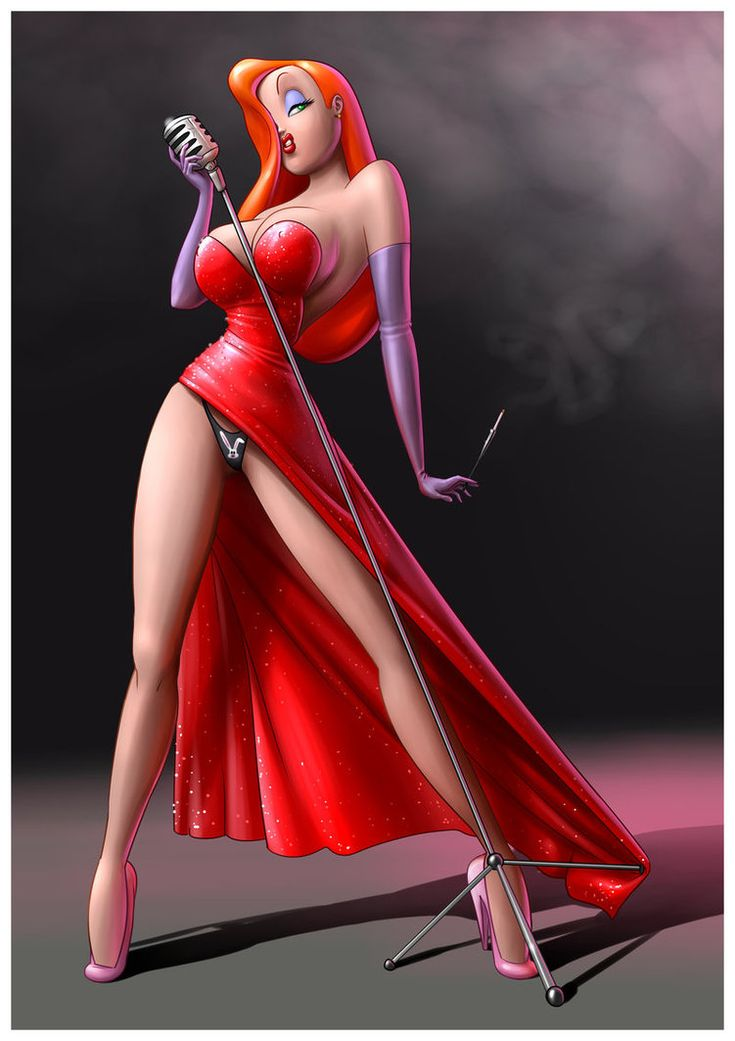 What Jessica rabbit sketch nude possible