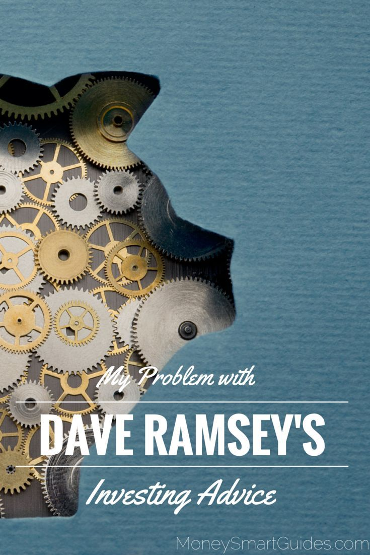You have to weed out what is good advice from what is bad advice. When it comes to investing, Dave Ramsey investing advice is dead  http://www.moneysmartguides.com/the-problems-with-dave-ramsey-investing-advice