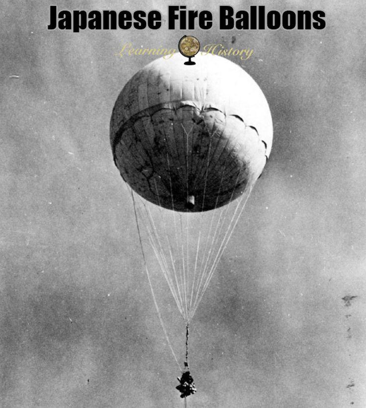 Japanese Fire Balloons: World War II via @learninghistory
