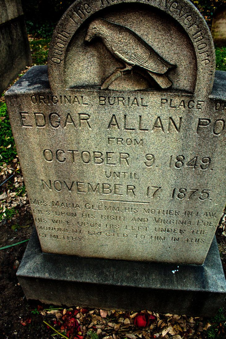 The Grave of Edgar Allan Poe. ◄ Writing: The Wisdom of the Elders Project ► I am…