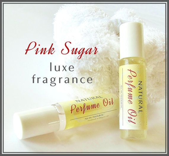 Pink Sugar Natural Perfume Oil  15 ml value size by crimsonhill