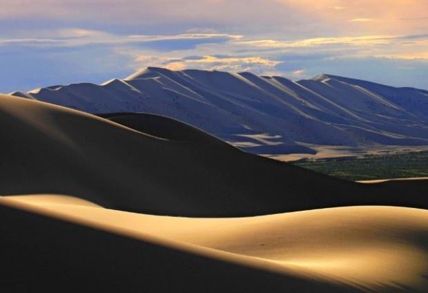 I colori del Deserto dei Gobi in Mongolia