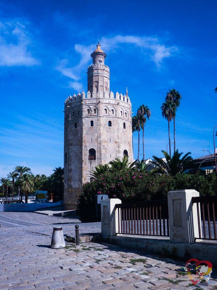 Torre del Oro. Sevilla, Andalucía, España.