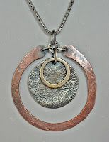 Hammered Pendant ...... Love It!