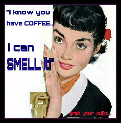 Coffee: Mouths Shut, Joe Bowler, Vintage Illustrations, Coff Lovers, Pinup Artists, Coff Time, Coff Addiction, Natalie Wood, Smell Coff