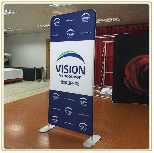 Floor display banner stands gurus floor for Floor banner