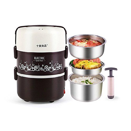 Seed 1.8L Portable Heating Lunch Dinner Box Stainless Steel Food Jar Food Warmer with Vacuum Pump Desktop Dining for Office Work and Traveling. Seed http://www.amazon.co.uk/dp/B00IUK5WYG/ref=cm_sw_r_pi_dp_wc3Vvb1A7VKRX