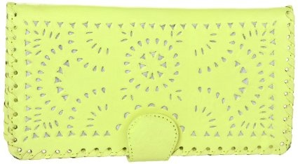 Amazon.com: CleobElla Mexicana C103 Wallet,Hot Pink Painted,One Size: Clothing $55