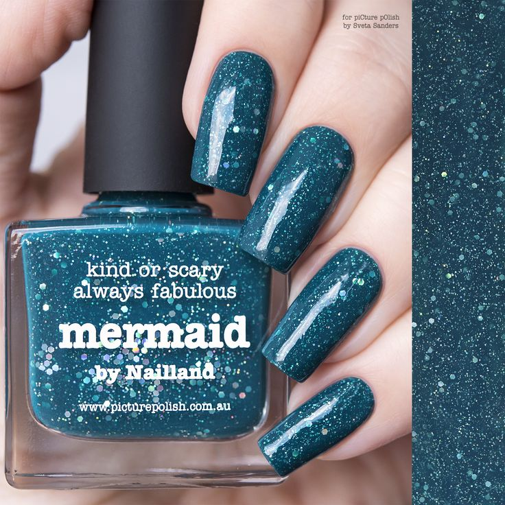 piCture pOlish : Picture Polish Mermaid Shop here- www.color4nails.com Worldwide shipping available