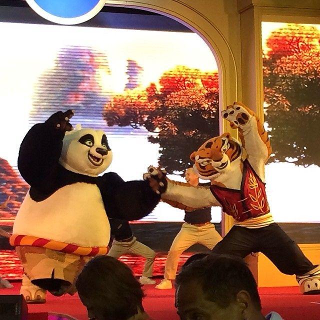 When Po meets Tigress...