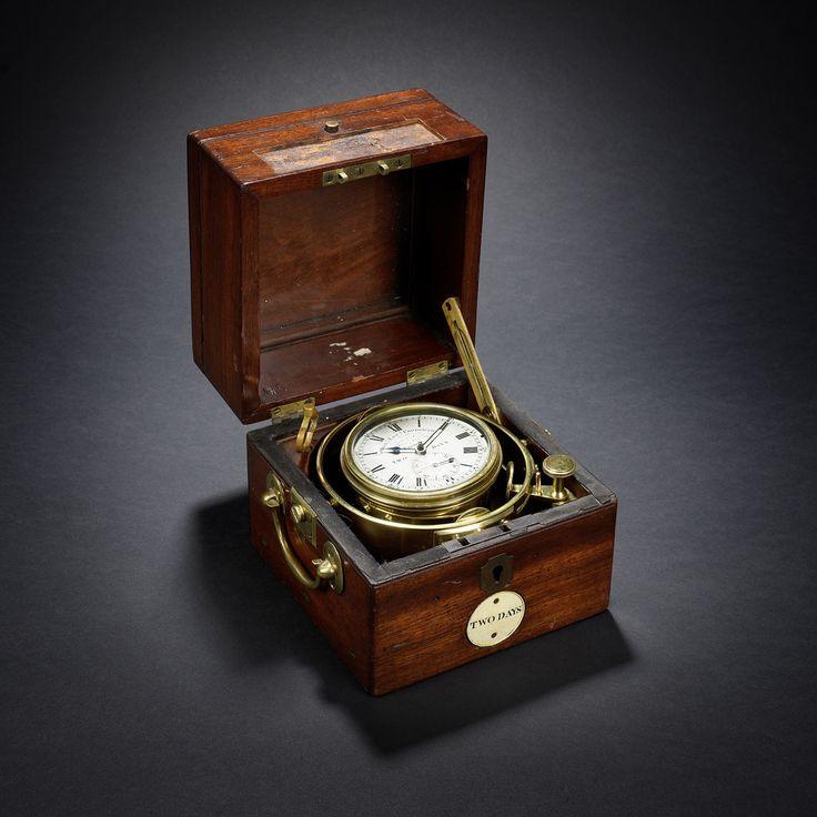 HMS Beagle Marine chronometer