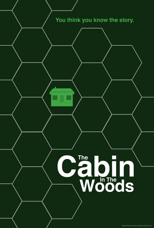 Cabin in the Woods... Of all the ways for him to die.... He runs into a wall.....xD