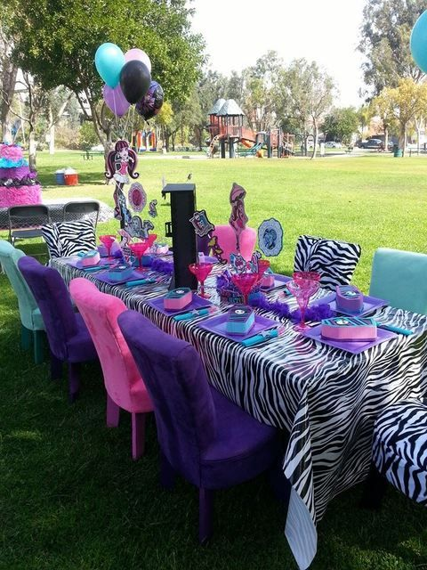 Monster High Birthday Party Ideas | Photo 16 of 25 | Catch My Party