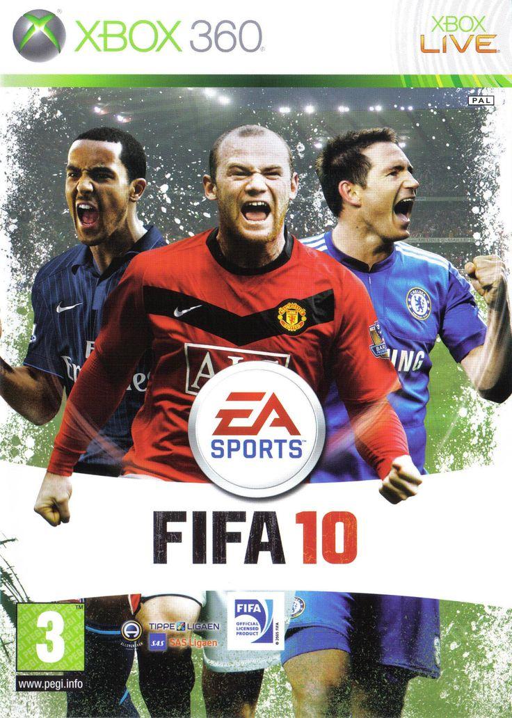 FIFA 10 Cover Fifa, Fifa games, Fifa 2010