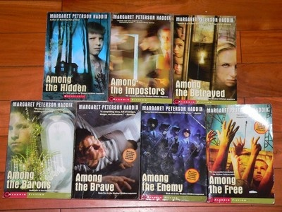 Great Series for Kids!! Complete Series Shadow Children - Among the Hidden, Impostors + 7 Books Haddix