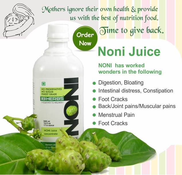 Benefits of noni juice study