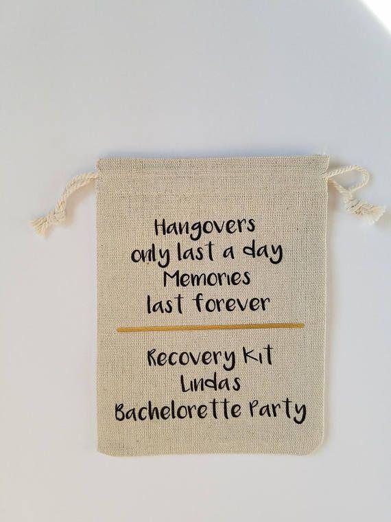 Bachelorette Party Survival Kit, Bachelorette Party Hangover survival Kit, Birthday Hangover Survival Kit, Hangover kit