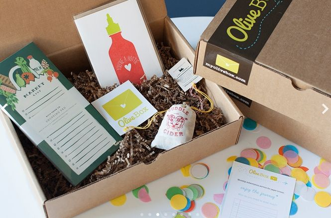 oliveBox monthly subscription - many monthly gift options - kid's one is pretty affordable
