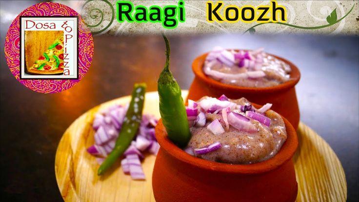 Raagi Koozh | Millet Porridge | Raagi Porridge | Aadi Porridge