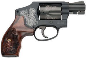 smith and wesson airweight 38 special | Smith and Wesson Model 442 Airweight Revolver 150785, 38 Special+P, 1 ...