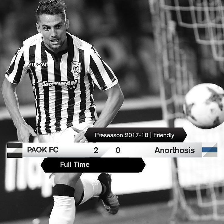 #PAOKANO 2-0 #Preseason #friendly #DareToDream