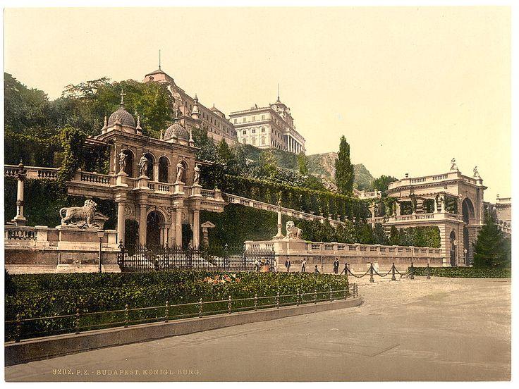Budapest, Királyi palota.