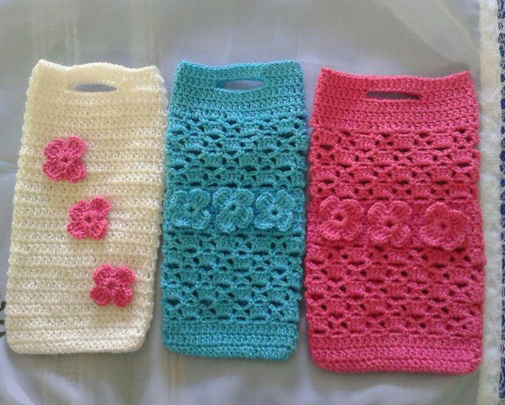 Funda móvil crochet