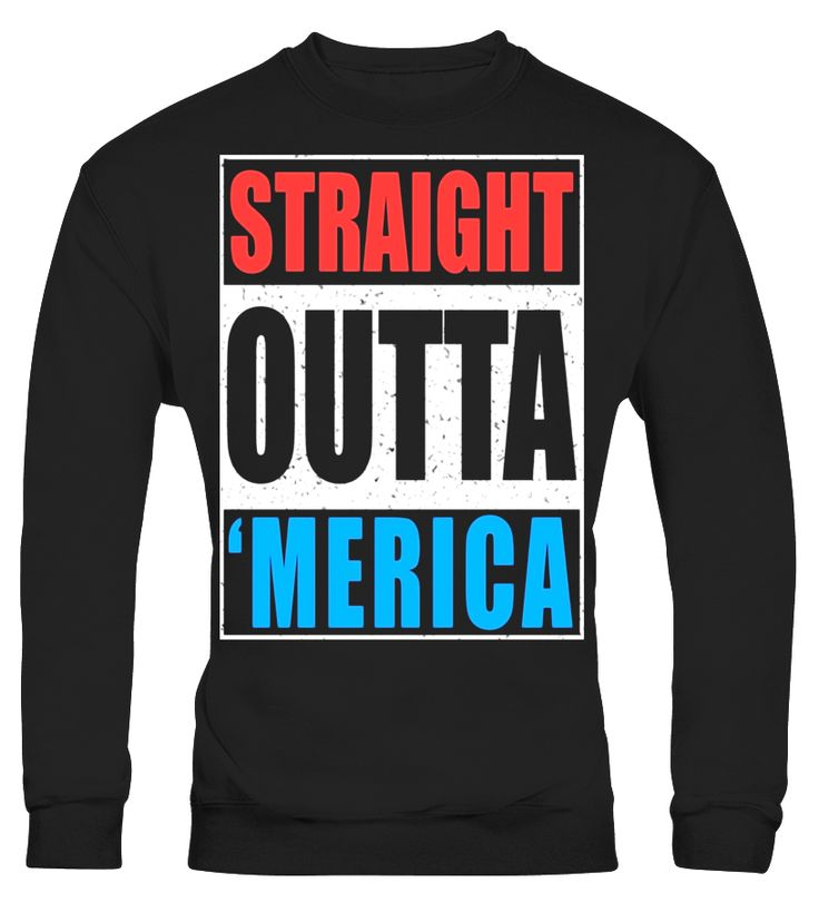 Straight Outta Merica T-Shirt Funny 4th of July Gift Shirt  Funny halloween haunt T-shirt, Best halloween haunt T-shirt