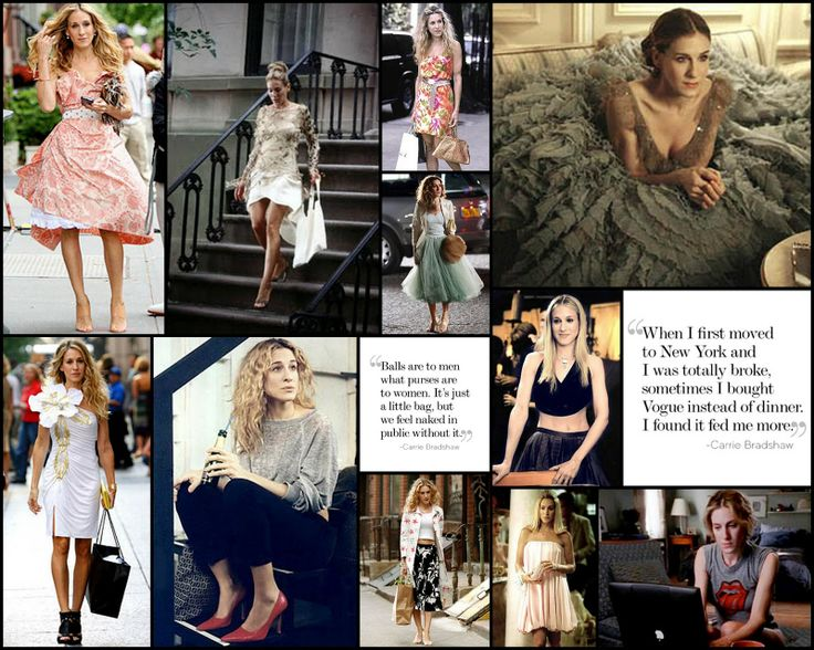 carrie bradshaw outfits | Carrie Bradshaw-Sex and the City