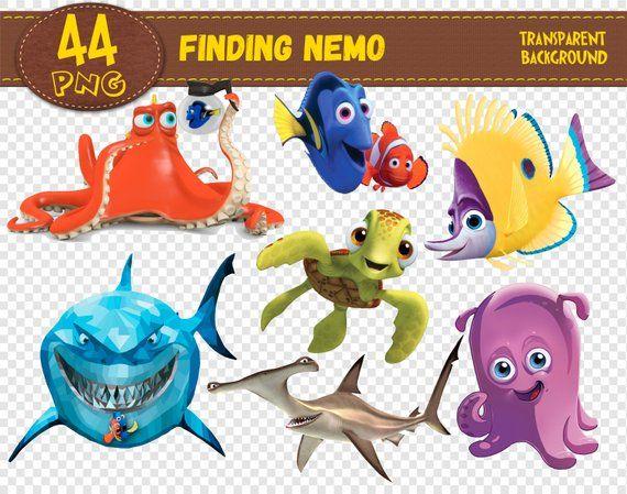 Finding Nemo Clipartfinding Nemo Charactersfinding Nemo Etsy Finding Nemo Characters Finding Nemo Clip Art