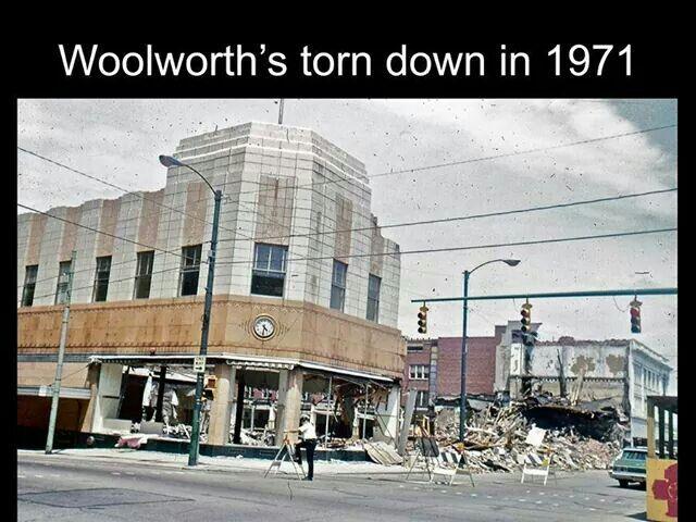 Goodbye Woolworths.   Springfield, Ohio   Pinterest